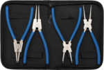 Circlip Pliers Set 225 mm 4 pcs