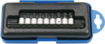 Bit Socket (1/4) drive tamperproof Torx 9 pcs.