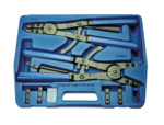 Circlip Pliers Set for utility vehicles exchangeable tips 400 mm