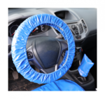 Protective seat and steering wheel cover universal imitation leather