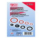 141-piece Seal Ring Assortment: Rubber and Fibre