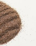 Blasting brown corundum,F060- 25 kg