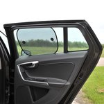 Car sunshade for side window set of 2 pieces