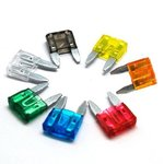 Mini Blade Fuse Assortment 120pc