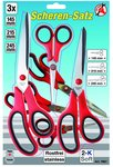 3-piece Stainless Scissors Set