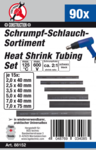 90-piece Shrink Tubing Assortment, black