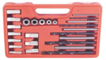 Screw Extractor Drill Bit and Guide Set 25pc