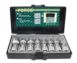 1/2 Universal socket set SAE 8pc