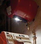 LED Akku hand lamp HL DA 61 M3H2 - 6+1