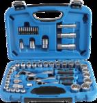 52-piece Gear Lock Go-Thru Socket Set, 4.5 - 25 mm