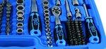 Socket Set Gear Lock 6.3 mm (1/4) drive / 10 mm (3/8) / 12.5 mm (1/2) 192 pcs.