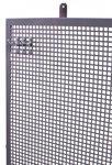 Flat perforated metal panel 200x94cm