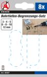 Drill depth limiter set | 8 pcs.