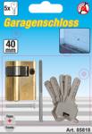 Garagedeur profielcilinder 40 mm