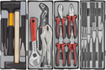 Practical tool trolley 325-piece