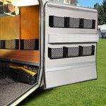 Aluminium frame 80mm for storage net elastic 230072