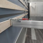 Cargo lock plank aluminium 2400-2700mm