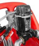 Red diesel tank 110 l, pump piusi 12 v hose + automatic gun