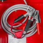 Red diesel tank pe 440 liter, 40l pump 12v, hose + gun