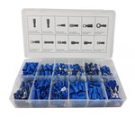 Cable connectors blue 280-piece