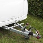 Caravan adapter for bike carrier (low model)