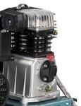 Belt driven oil compressor 10 bar - 200 liters