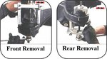 Rear sub-frame bush installer/remover Mercedes Benz