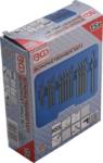 Blind Rivet Drill Set HSS 2.4 - 6.4 mm 15 pcs