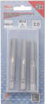 Tap Set Starter, Plug, Bottoming Tap M14 x 2.0 3 pcs.