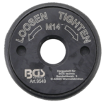 Quick-release nut for angle grinder M14
