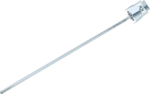 Wall hook single 300 x 4.8 mm with hinged closure (without gallows)