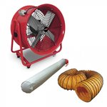 Fan 400 mm with accessories