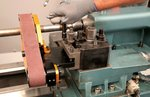 Grinder for lathe - automatic guidance system 50x915mm