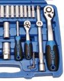 Socket Set 6.3 mm (1/4) + 12.5 mm (1/2) drive 95 pcs._