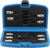 Bit Socket / Socket Set   for cylinder Head screws   12.5 mm (1/2) drive   9 pcs._