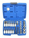 Bit and Socket Set 10 mm (3/8) Torx 34 pcs._