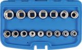 Socket Set, 12-point 12.5 mm (1/2) drive 8 - 24 mm 16 pcs._