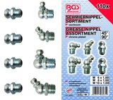 Grease Nipple Assortment 110 pcs_