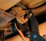 Removing Pliers for Exhaust Rubbers_