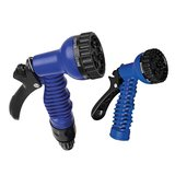 Expandable water hose 15M with 7 function spray gun_