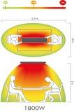 1800w hot-top infrared heater black 9818_