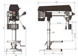 Radial drilling machine diameter 16mm_