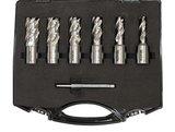 Set of core drills 6-piece 12 - 22mm_
