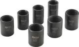 Special Socket Set / Screw Extractors 12.5 mm (1/2) Drive 17 - 26 mm 7 pcs._