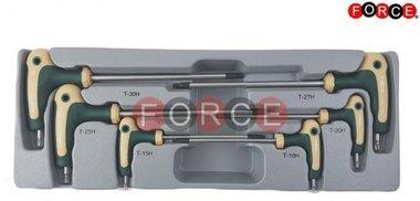 Star tamperproof grip key set 6pc