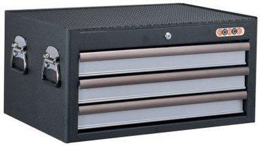 Toolbox black 3 drawer