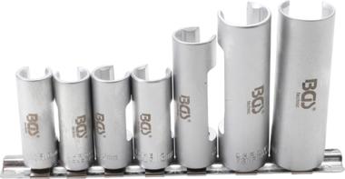 Special Socket Set, slotted   10 mm (3/8) drive   10 - 19 mm   6 pcs.