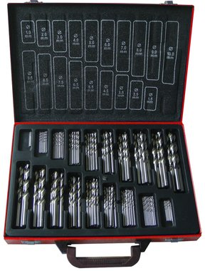Set of fully grounded drill bit set 170 pcs