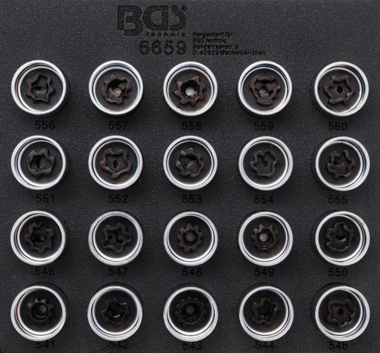 Rim Lock Socket Set for VAG 20 pcs