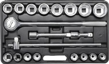 20-piece Socket Set, 3/4
